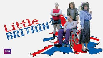 Netflix box art for Little Britain - Series 1