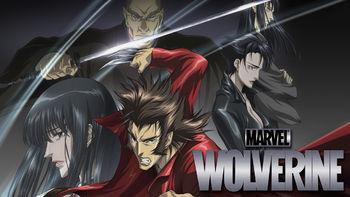 Netflix box art for Marvel Anime: Wolverine - Season 1