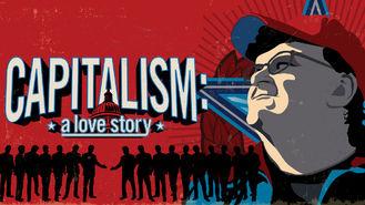 Netflix box art for Capitalism: A Love Story