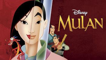 Netflix box art for Mulan