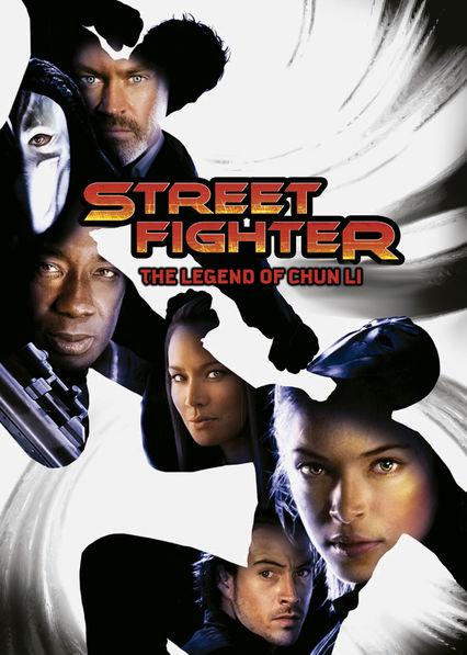 Street Fighter: The Legend of Chun-Li Netflix UK (United Kingdom)