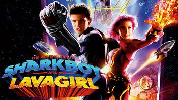 Netflix box art for The Adventures of Sharkboy & Lavagirl