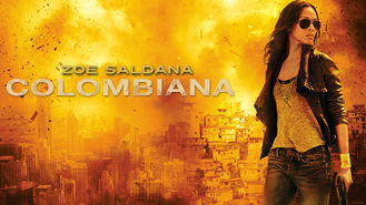 Netflix box art for Colombiana