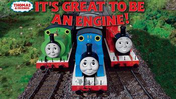Netflix Box Art for Thomas & Friends: Great Being an Engine