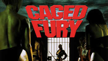 Netflix box art for Caged Fury