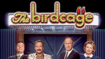 Netflix box art for The Birdcage
