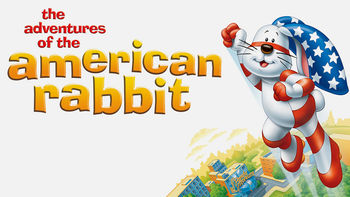 Netflix box art for The Adventures of the American Rabbit