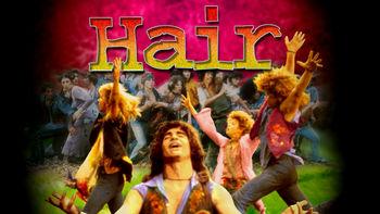 Netflix box art for Hair