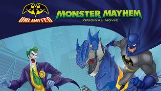 Netflix box art for Batman Unlimited: Monster Mayhem