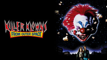 Netflix box art for Killer Klowns from Outer Space