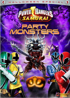 Power Rangers Samurai: Party Monsters...