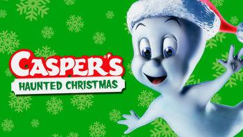 Netflix box art for Casper's Haunted Christmas