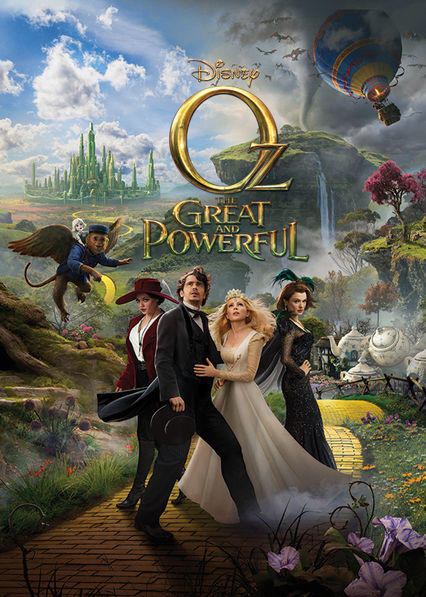 Oz the Great and Powerful Netflix AU (Australia)