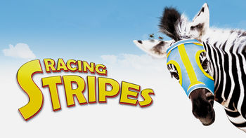 Netflix box art for Racing Stripes