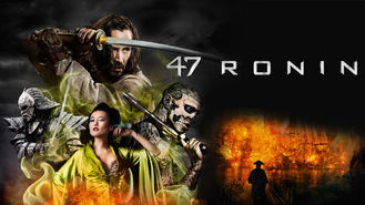 Netflix box art for 47 Ronin