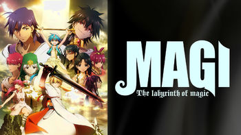 Netflix Box Art for Magi: The Labyrinth of Magic - Season 1