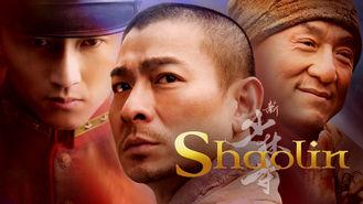 Netflix box art for Shaolin