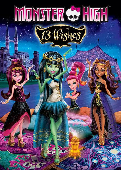 Monster High 13 Wishes Netflix ES (España)