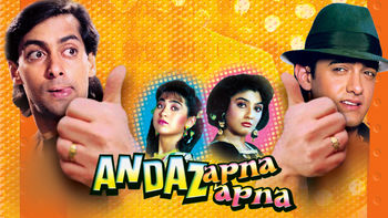 Netflix box art for Andaz Apna Apna