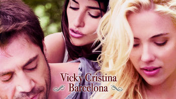 Netflix box art for Vicky Cristina Barcelona