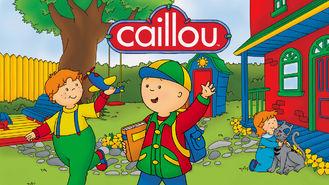 Netflix box art for Caillou - Season 4