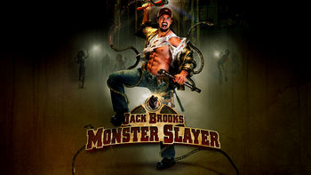 Netflix box art for Jack Brooks: Monster Slayer
