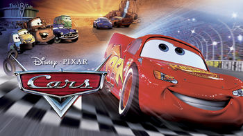 Netflix box art for Cars