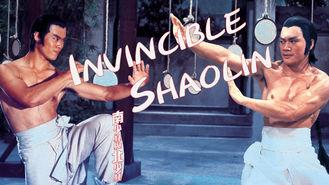 Netflix Box Art for Invincible Shaolin
