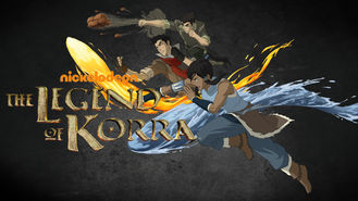 Netflix box art for The Legend of Korra - Season Book One: Air