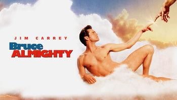 Netflix box art for Bruce Almighty