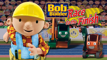 Netflix box art for Bob the Builder: Race to the Finish
