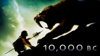 Netflix box art for 10,000 B.C.