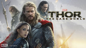 Netflix box art for Thor: The Dark World