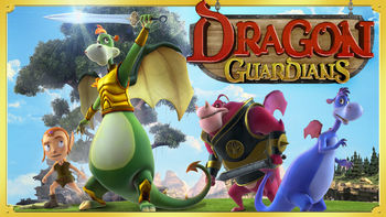 Netflix box art for Dragon Guardians
