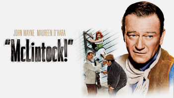 Netflix box art for McLintock!