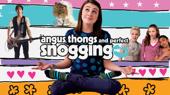 Netflix box art for Angus, Thongs and Perfect Snogging