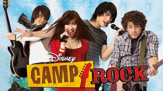 Netflix box art for Camp Rock
