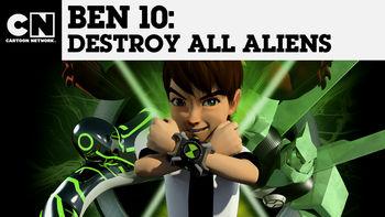 Netflix box art for Ben 10: Destroy All Aliens