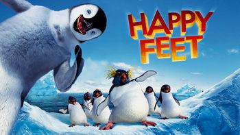Netflix box art for Happy Feet
