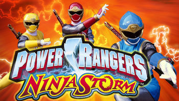 Netflix box art for Power Rangers Ninja Storm - Season 1