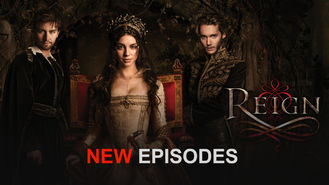 Netflix box art for Reign - Season 2