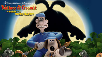 Netflix box art for Wallace & Gromit: Curse of the Were-Rabbit