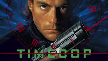 Netflix box art for Timecop