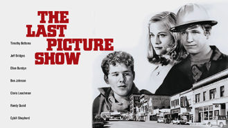 Netflix box art for The Last Picture Show