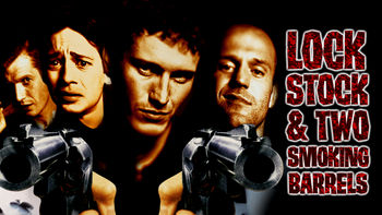Netflix box art for Lock, Stock and Two Smoking Barrels