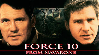 Netflix box art for Force 10 from Navarone