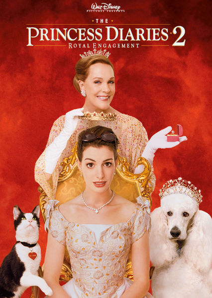 The Princess Diaries 2: Royal Engagement Netflix BR (Brazil)