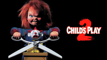 Netflix box art for Child's Play 2: Chucky's Back