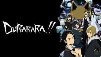 Is Durarara!!, Season 1 on Netflix?
