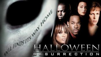 Netflix box art for Halloween: Resurrection